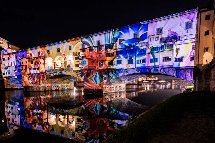#FlightFirenze LIGHTNESS 8 dicembre - 8 gennaio 17:30 - 24:00 Ponte Vecchio