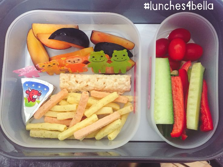 #lunches4bella Miss 6 made this one herself!! Bento style lunch in a Yubo
