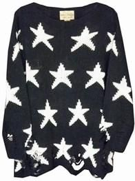 Wildfox Seeing Stars Lennon Sweater as seen on Lauren Bushnell