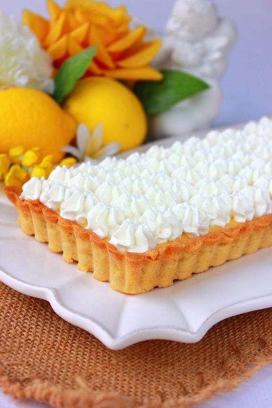 """Tarte au citron meringuée façon """" Pierre Hermé """""""
