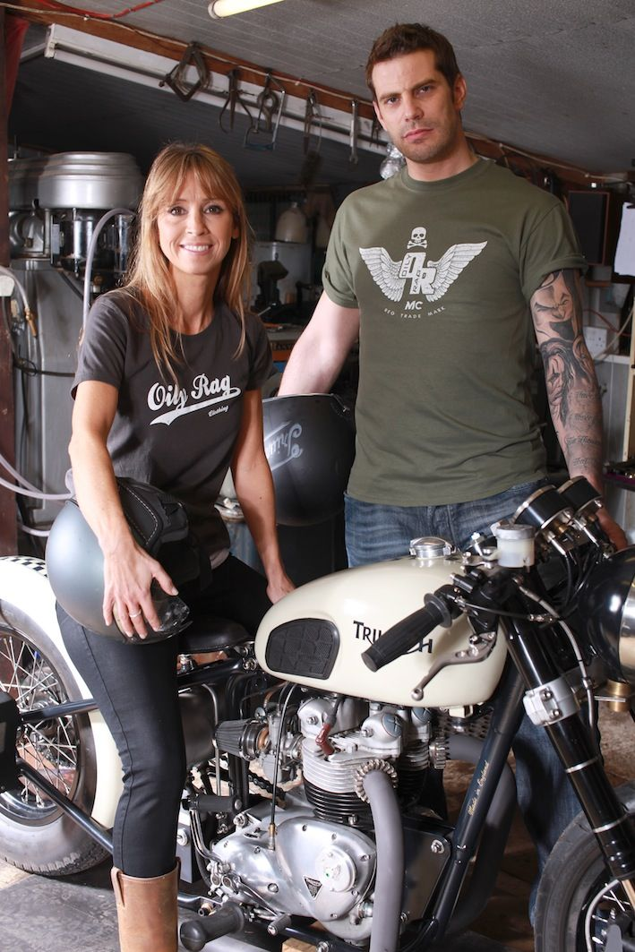 Selection of biker tees