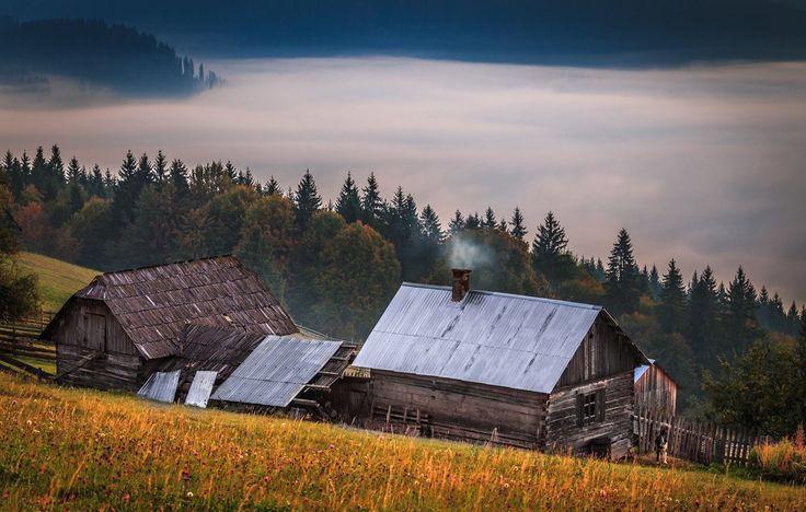 Undeva în Bucovina...înainte de răsărit..