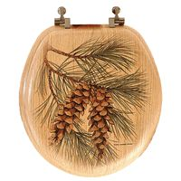 Pine Cone Toilet Seat This Would Look Awesome In Our