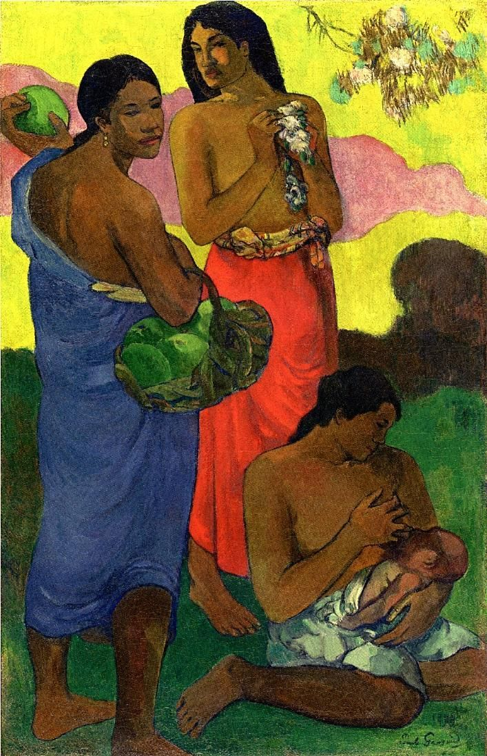 Maternite II - Paul Gauguin