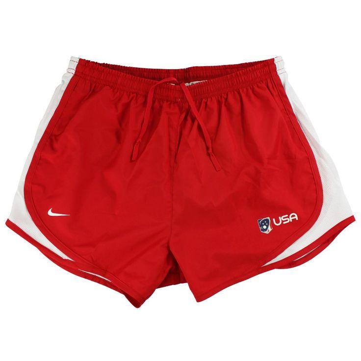 #LacrosseUnlimited #Nike Girls Tempo USA Lacrosse Shorts #TeamUSA