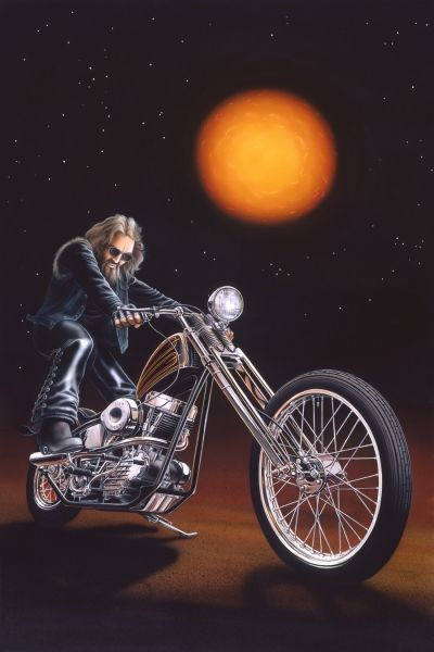"Ghost Rider "" - Limited Editions - All Artwork - David Mann ..."
