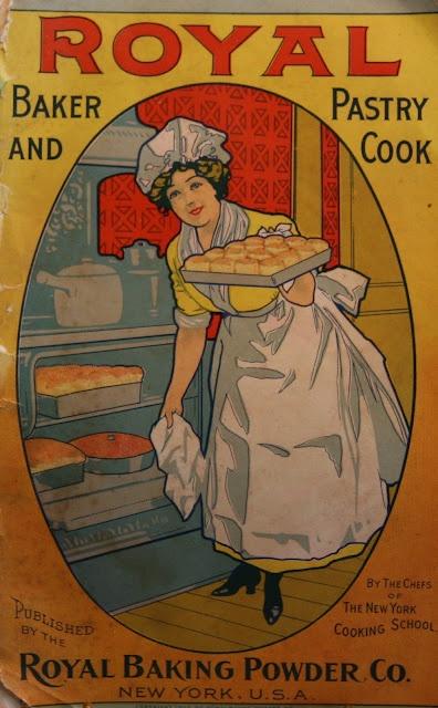 Mother loved her cookbooks ~  Royal vintage cookbook, 1902