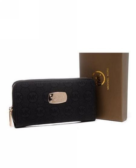 The MICHAEL Michael Kors Monogram Wallets were designed for the woman who  likes the versatile, classic black style. Michael Kors Wallets are chic  wallets ...