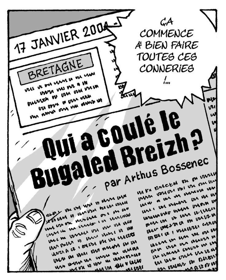 """Locus Solus Éditions sur Twitter : """"Notre roman graphique sur le #BugaledBreizh…"""