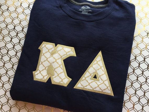Greek Letter Sweatshirt Sorority Sweatshirt by LittleGreekBoutique