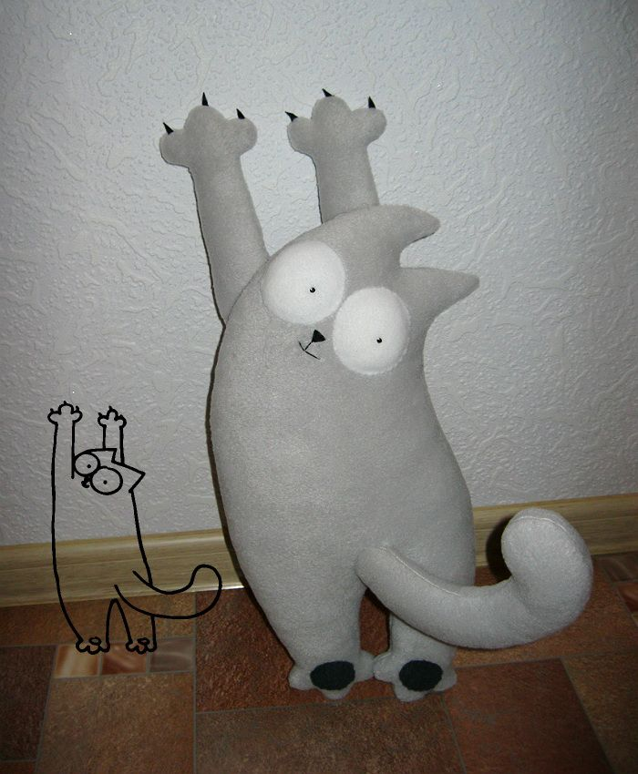 Katrin Black HANDMADE: Simon's Cat форева!