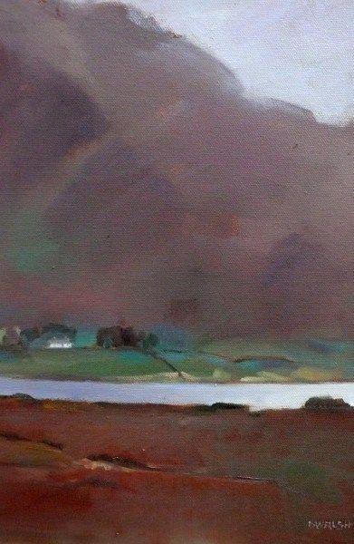 Lough Mask In November by Deirdre Walsh on ArtClick.ie Ireland Landscape Art