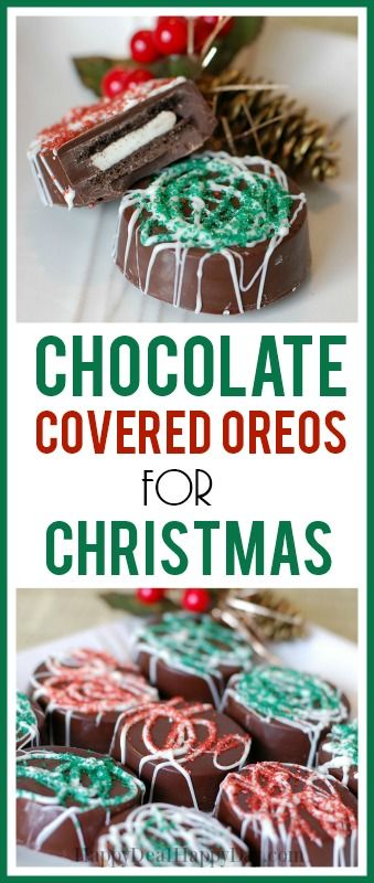 Here is my Christmas version of Chocolate Covered Oreos: Materials/Ingredients needed to make your own: 2 dozen Oreo Cookies (or store brand, which I did use Wegmans store brand) Melting Chocolate (I used dark chocolate) – 2 lbs for 2 dozen cookies – found in the bulk section of the grocery store […]