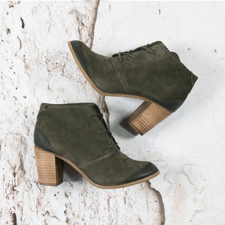 Green ankle boot by TOMS --> https://www.omoda.nl/dames/laarzen/enkellaarsjes/toms/groene-toms-enkellaarsjes-lace-up-botie-70150.html/?utm_source=pinterest&utm_medium=referral&utm_campaign=tomsanklebootpinterest6-9-16&s2m_channel=903