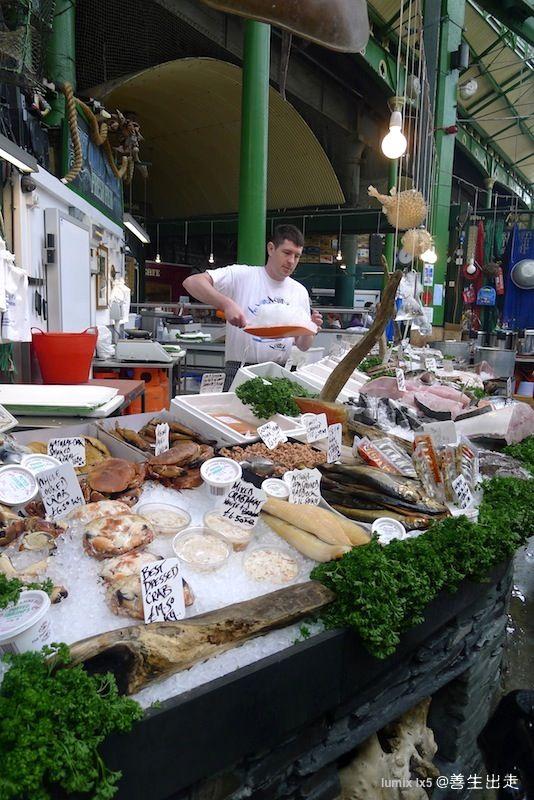 善生出走: 歐洲出走116天 (day6):倫敦市場。熱鬧裡安靜 Europe 116 days (day6) :London Market