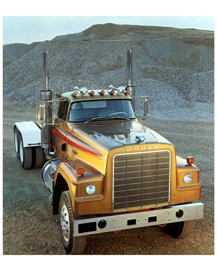 1973 1974 Dodge Bighorn Truck Factory Photo c8867
