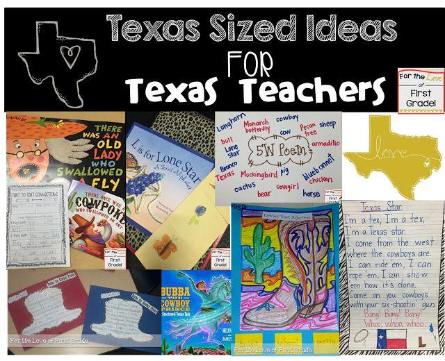 BIG State=BIG Ideas, TEXAS Teachers Read This!