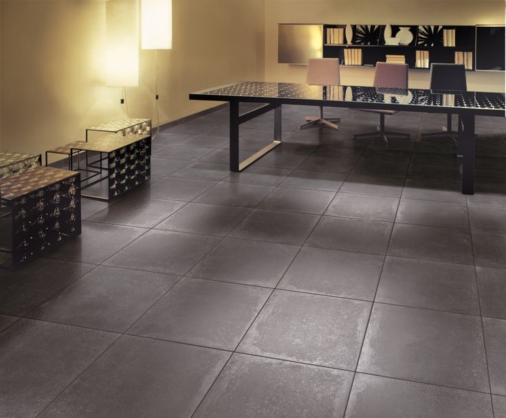 Carrelage julio gris for Carrelage sol mince