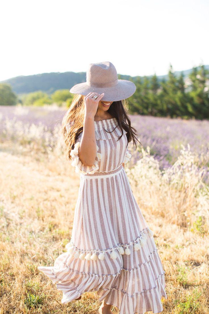 A Hot Air Balloon Ride - Misa dress // Janessa Leone hat // Hermes sandals // Meli Melo bag // Baublebar necklace  August 7, 2017