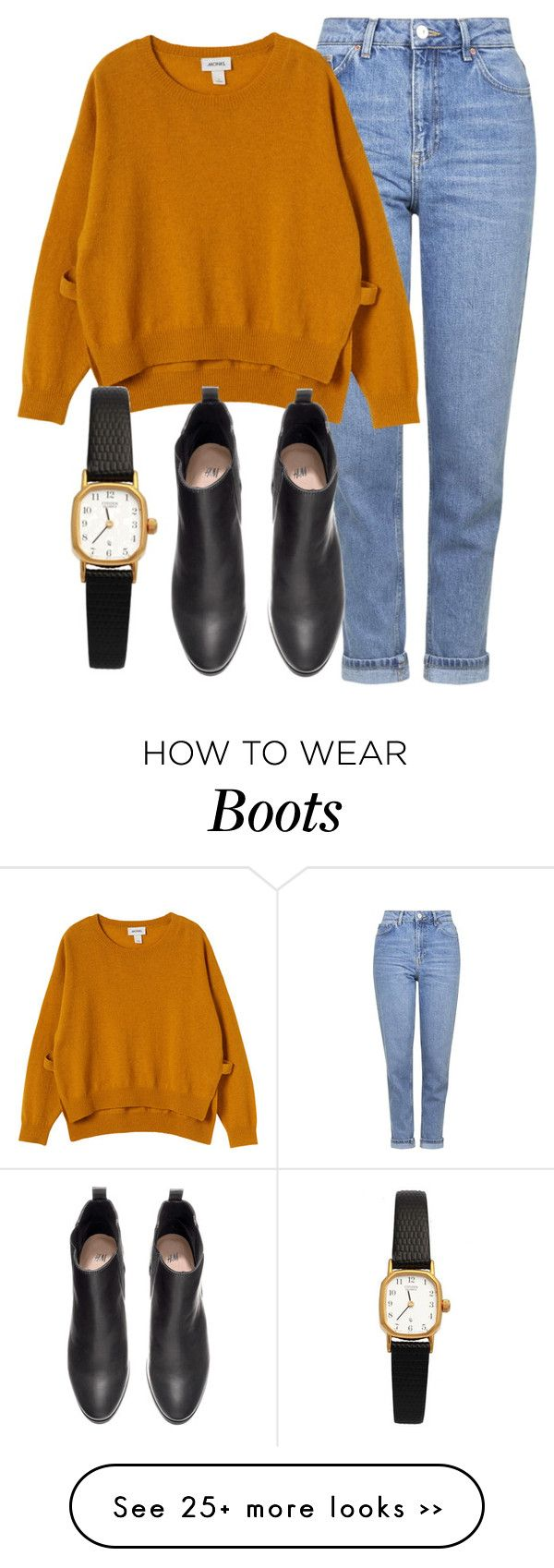 """""""Untitled #4289"""" by laurenmboot on Polyvore featuring Topshop, Monki, H&M and American Apparel"""