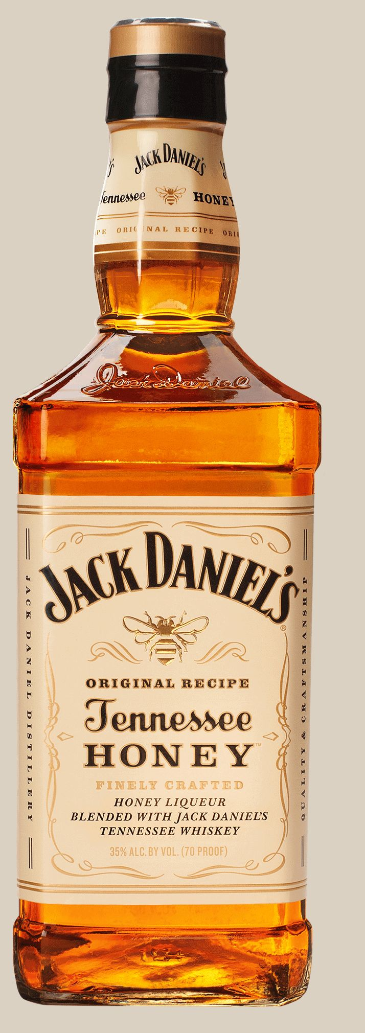 Tennessee Whiskey *Jack Daniel's Tennessee Honey* - Jack Daniel's, Tennessee, EE.UU.