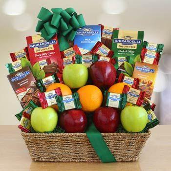 Executive Gourmet Fruit Gift Basket. See more at www.giftbasketpros.com!