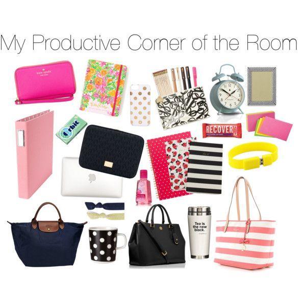 Dorm Inspiration Desk Essentials