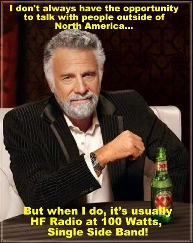 So says the most interesting man in the world!