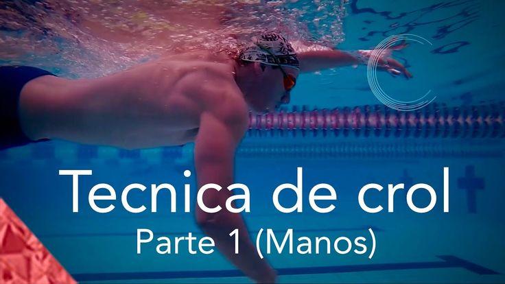 Como nadar crol correctamente. Parte 1. Técnica Manos. Estilo libre natación. - YouTube
