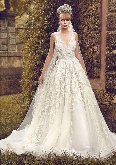 One of Kind Jorge Manuel Wedding Dresses. http://www.modwedding.com/2014/03/22/one-kind-jorge-manuel-wedding-dresses/ #wedding #weddings #fashion