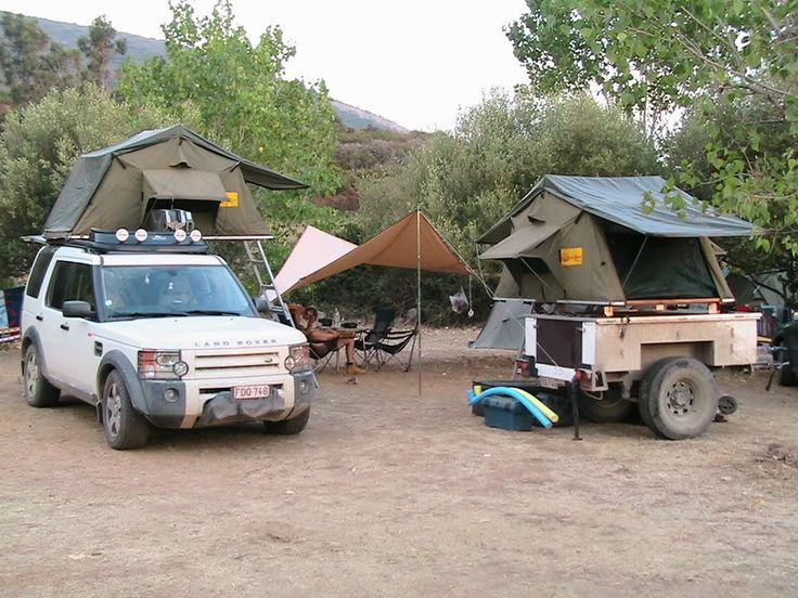 Land Rover Discovery Adventure Camp