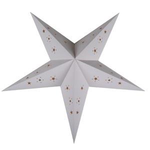Lanterne étoile - 60 cm - Blanche: White, 60 Cm, Christmas, Room