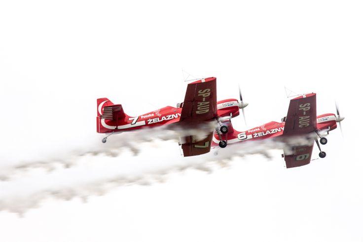 Pokaz akrobacji lotniczych