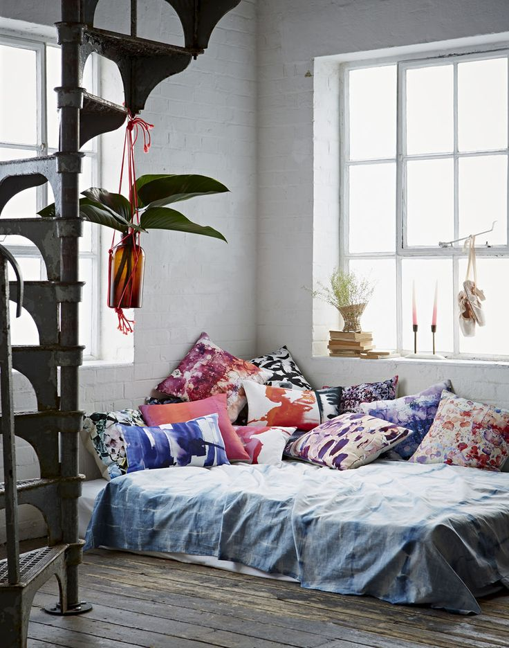 "Amy Sia ""Aegean"" collection styling by @emihenson and photography by Jon day #bohemian #bedroom"