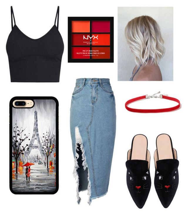 """""""🐈"""" by stacyk01 on Polyvore featuring мода, storets, Topshop и NYX"""