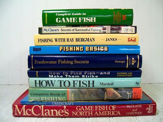 Collection of 10 Fishing Books  Fishing Basics Secrets &