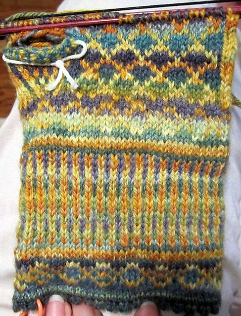 Ravelry: KathyInIowa's knitten mittens