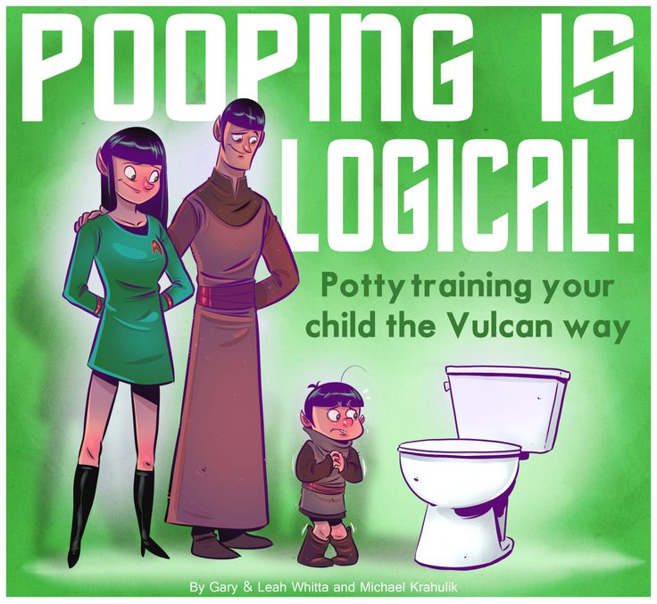 'Pooping Is Logical', A Potty Training Book Based on Vulcan Principles Established in 'Star Trek'
