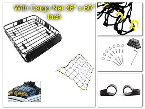 Universal Car Roof Rack Basket Cargo Carrier & Net Management Roof Top Holder Heavy Duty Steel - House Deals@ - http://www.caraccessoriesonlinemarket.com/universal-car-roof-rack-basket-cargo-carrier-net-management-roof-top-holder-heavy-duty-steel-house-deals/  #Basket, #Cargo, #Carrier, #Deals, #Duty, #Heavy, #Holder, #House, #Management, #Rack, #Roof, #Steel, #Universal #Cargo-Management, #Truck