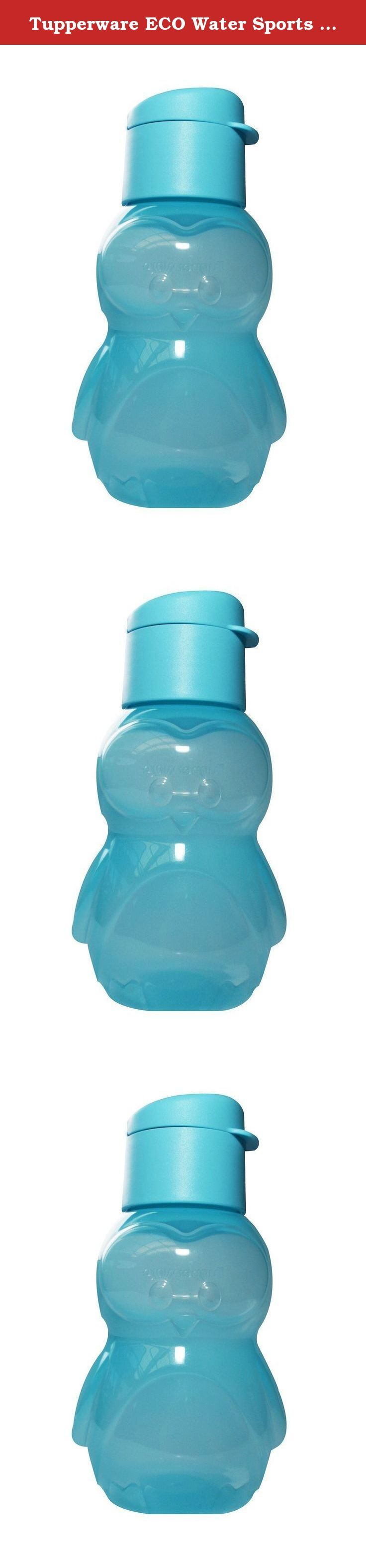Tupperware ECO Water Sports Bottle 12 Oz for Kids - Penguin - Light Blue. Tupperware is one of the most trusted names in housewares with the highest quality products and the finest design features to meet your special needs. Whether it's getting a good, hot meal on the table at the end of a busy day, toting a nutritious lunch to work, or taking time to learn a new baking secret with your children. Tupperware makes it all possible!.