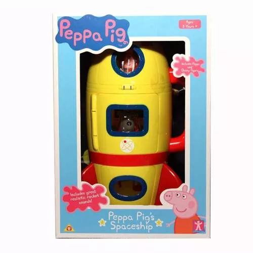 Peppa Pig Cohete Figuras Y Accs Bunny Toys - $ 1.499,90