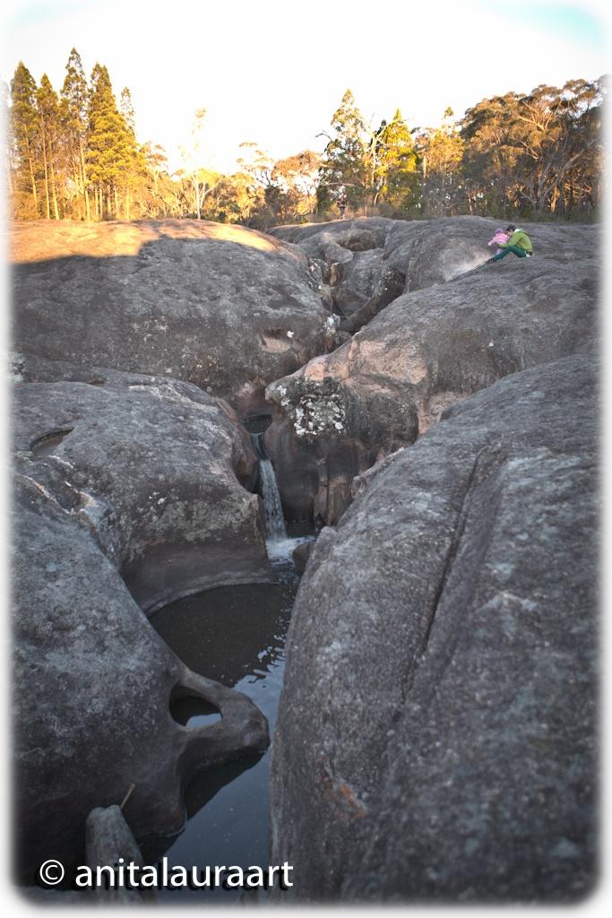 Underground Creek at Girraween, Australia