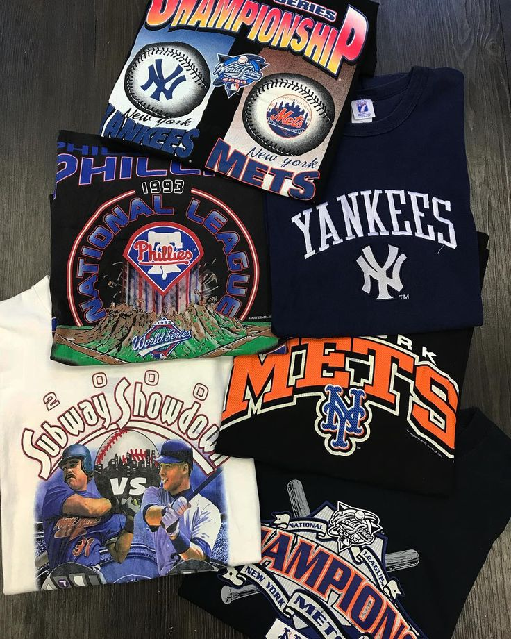 2000 Subway Series Tee Size XL for $30  NY Mets Tees  Size XL for $20 each  NY Yankees Tee  Size XL for $20  World Series Tee  Size XL for $40  Philadelphia Phillies Tee  Size XL for $25  Available in store  #lmtdsupply #newyorkyankees #newyorkmets #mlb #philidelphiaphillies #phillies #baseball