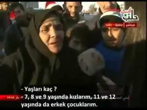 Halep'ten tahliye edilenler anlattı - YouTube