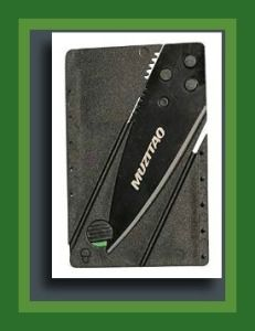 credit card combat knife