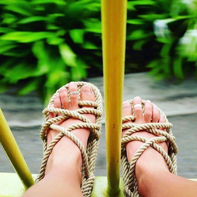 "NEW IN: Corda rope sandals ""softer rope version"" https://bohemiandiesel.com/shop/corda/"