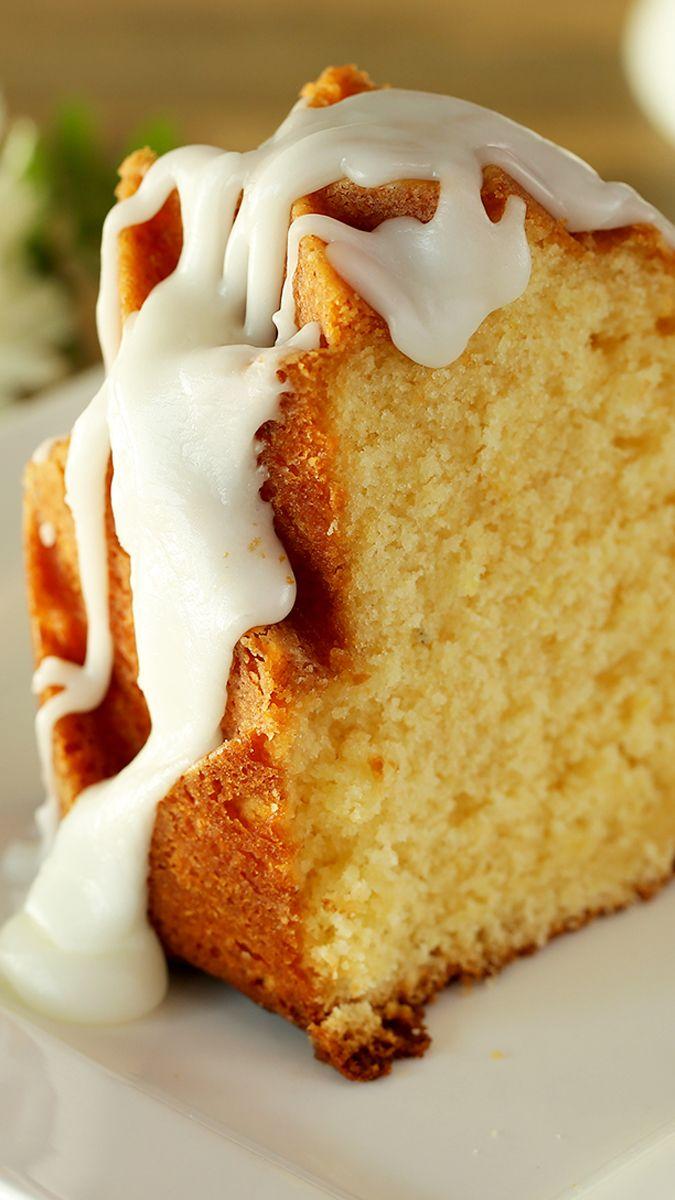 كيك الليمون Lemon Cake Cooking Recipes Recipes