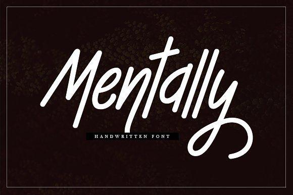 Mentally by Musafir LAB on @creativemarket