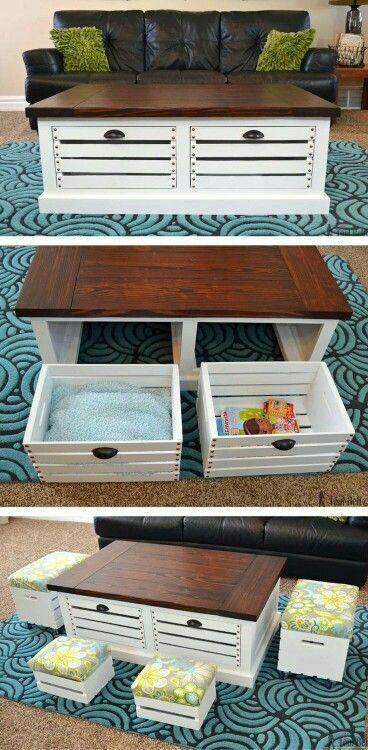 Smart idea for organize small pieces