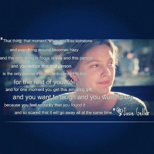 I have always loved this quote. This movie is a guilty pleasure of mine <3 From Never Been Kissed